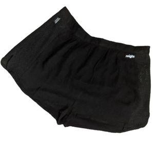 Insight Black Mesh Side Panel Swim Shorts Small